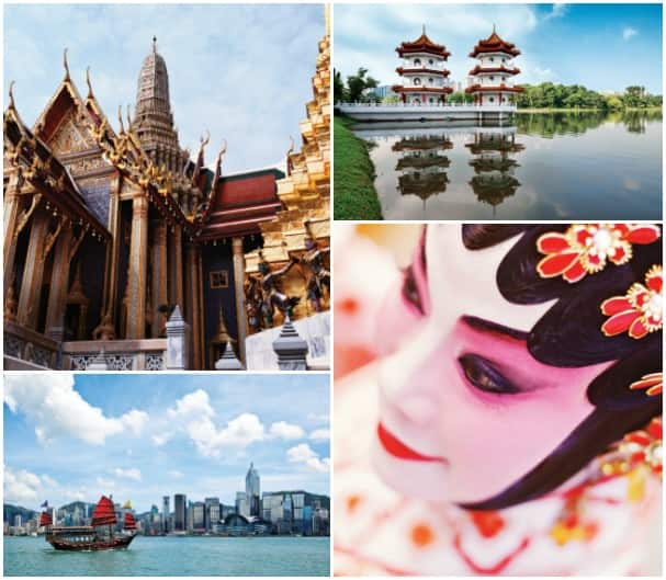 Visits to places like Hong Kong, Singapore and Bangkok made the 14-Day Far East Explorer cruise all the more enticing.
