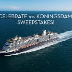 Win a Caribbean Cruise with the 'Celebrate ms Koningsdam Sweepstakes'