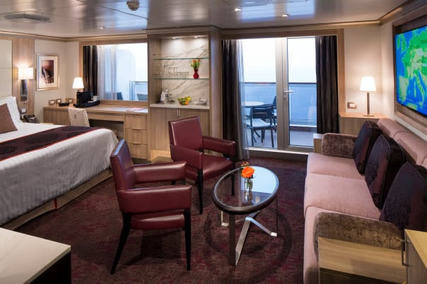 One of the gorgeous Neptune Suites.