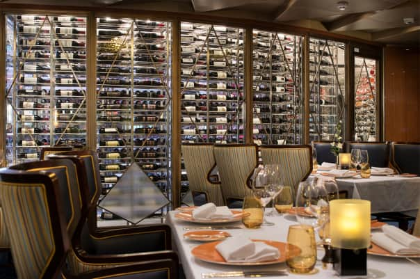 「pinnacle grill wine cellar holland america」的圖片搜尋結果