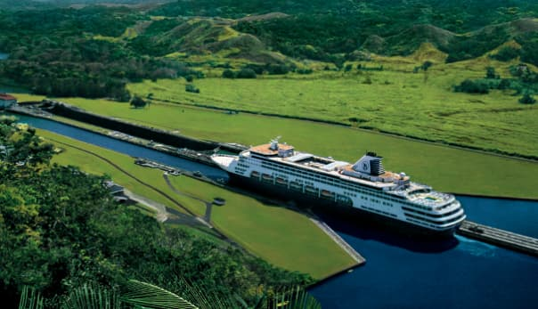 The Panama Canal is a bucket-list regular.