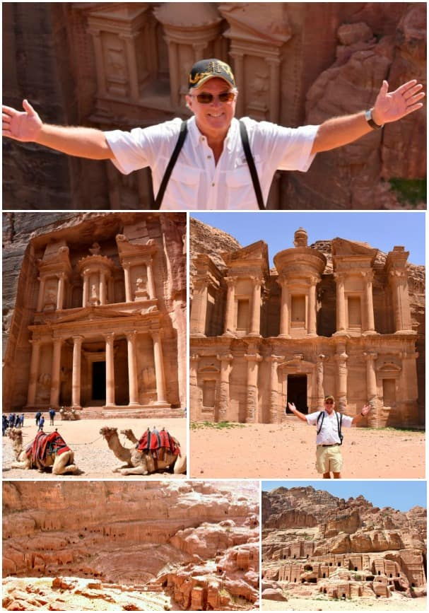 Jeff at Petra.