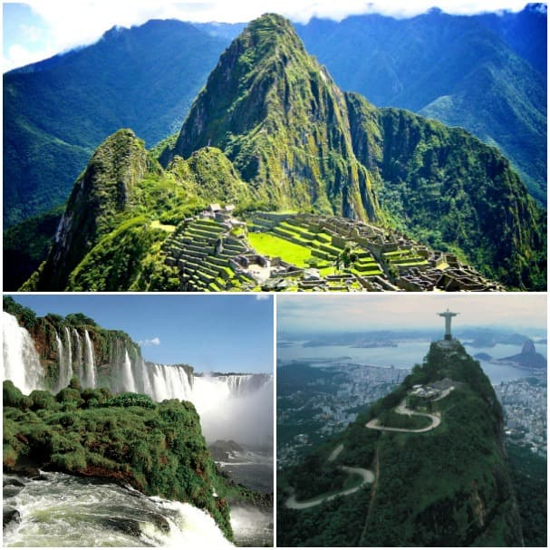 Machu Picchu, Rio's Corcovado and Iguazu Falls are just a few of South America's iconic sights.