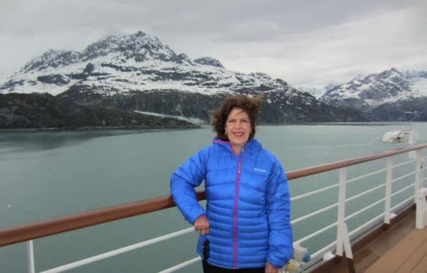 Gorgeous Alaska from the deck of Nieuw Amsterdam.