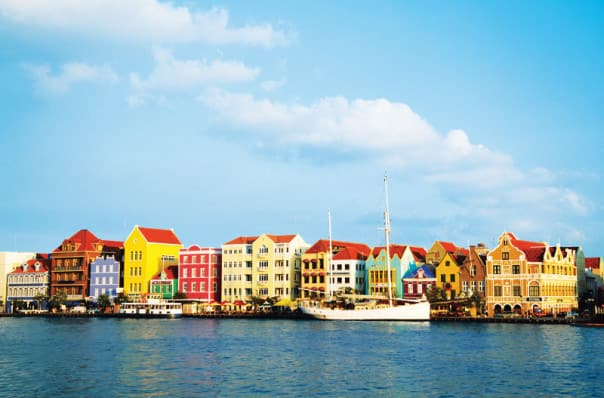 Do you see the Dutch influence in Curacao?