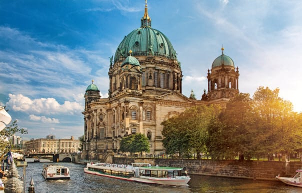 Berlin is just one of the many iconic and beautiful cities you'll see on a Jewels of the Baltic cruise.