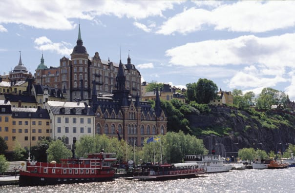 A Stockholm waterway
