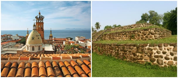 Walk around the town at Puerto Vallarta or visit the ruins in Puerto Chiappas during calls in Mexico.