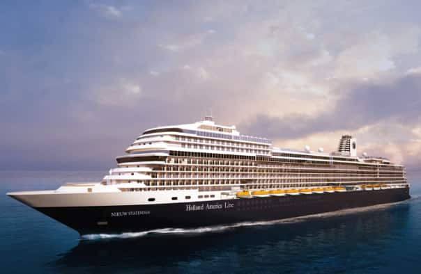Next Holland America Line Pinnacle-Class Ship to be Named ms Nieuw