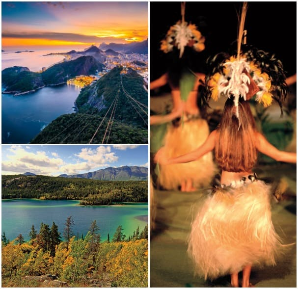 South America, Hawaii and Alaska are just a few regions featured in View & Verandah.