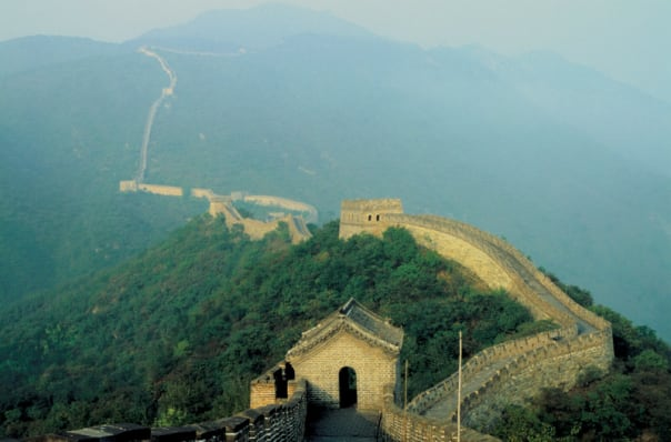 Beijing affords the opportunity to visit the Great Wall of China.