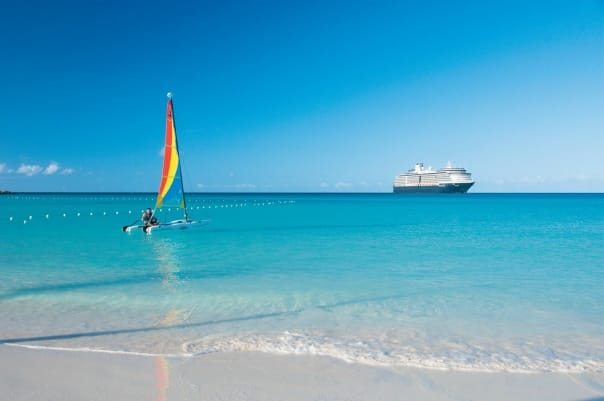 Many of our Panama Canal cruises also include a call at Half Moon Cay!