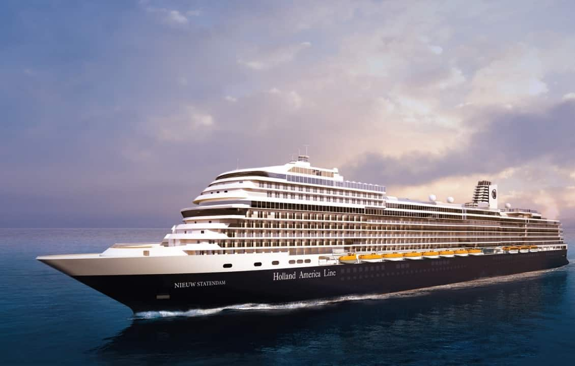 Bookings Open for Nieuw Statendam's Premiere Voyage & Inaugural