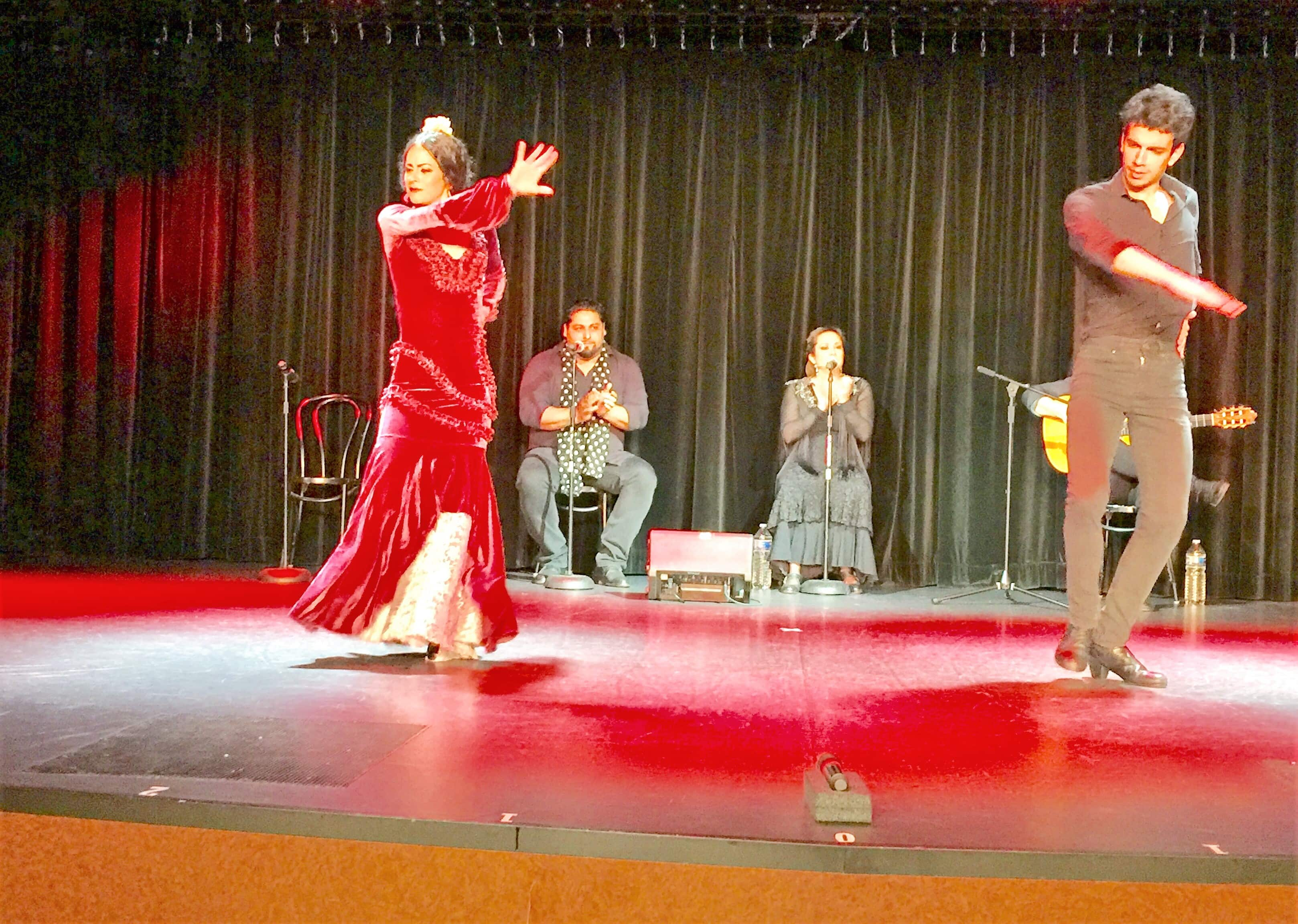 Local Flamenco dancers came onboard to entertain the guests.