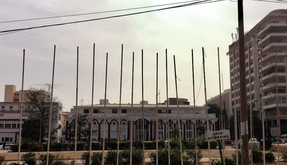 Independence Square in Dakar.