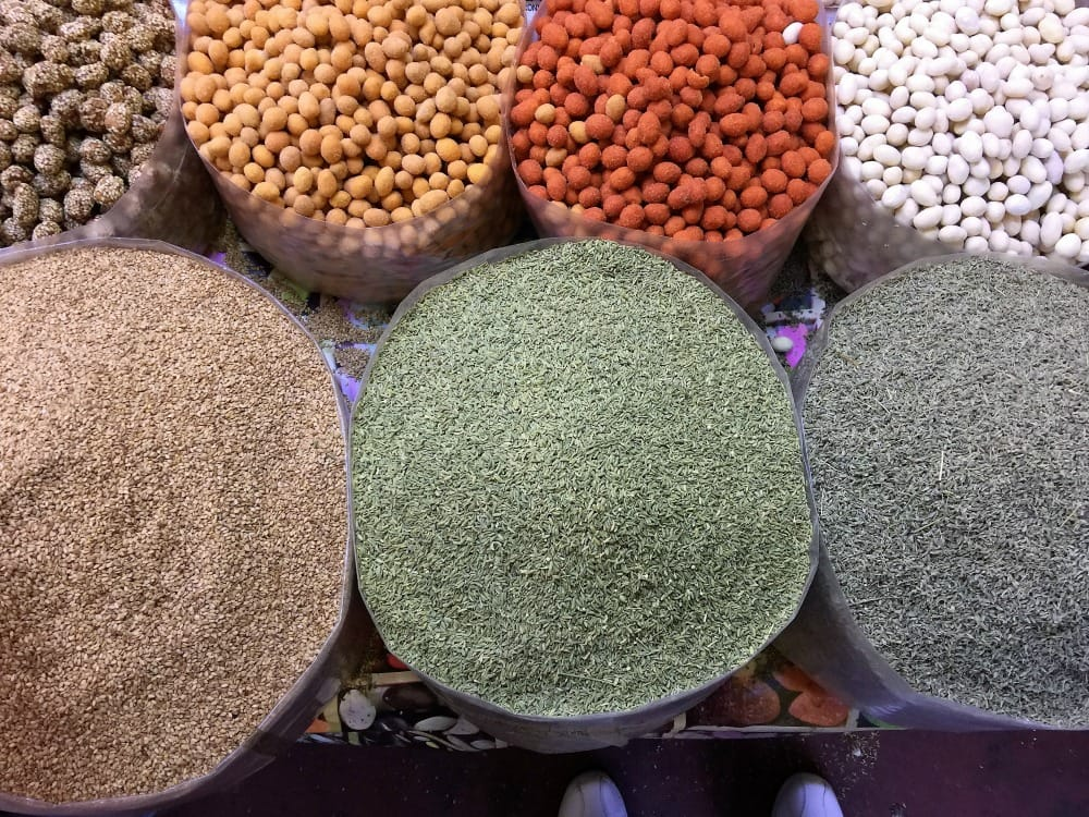 Moroccan spices.