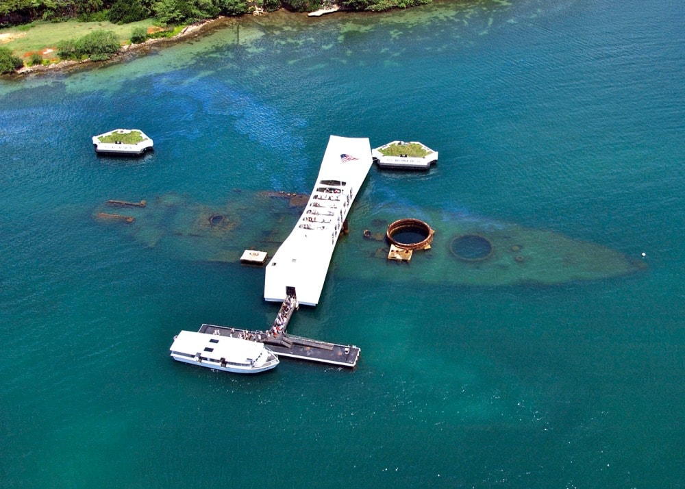 A Pearl Harbor Tour with the USS Arizona Memorial.