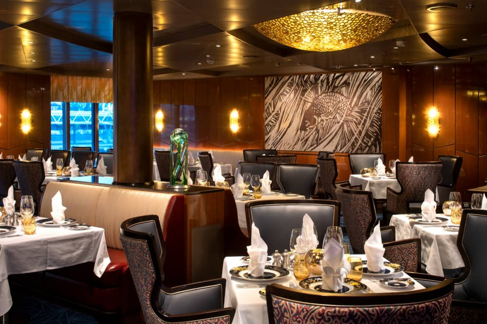 Guests receive a free dinner in Pinnacle Grill.