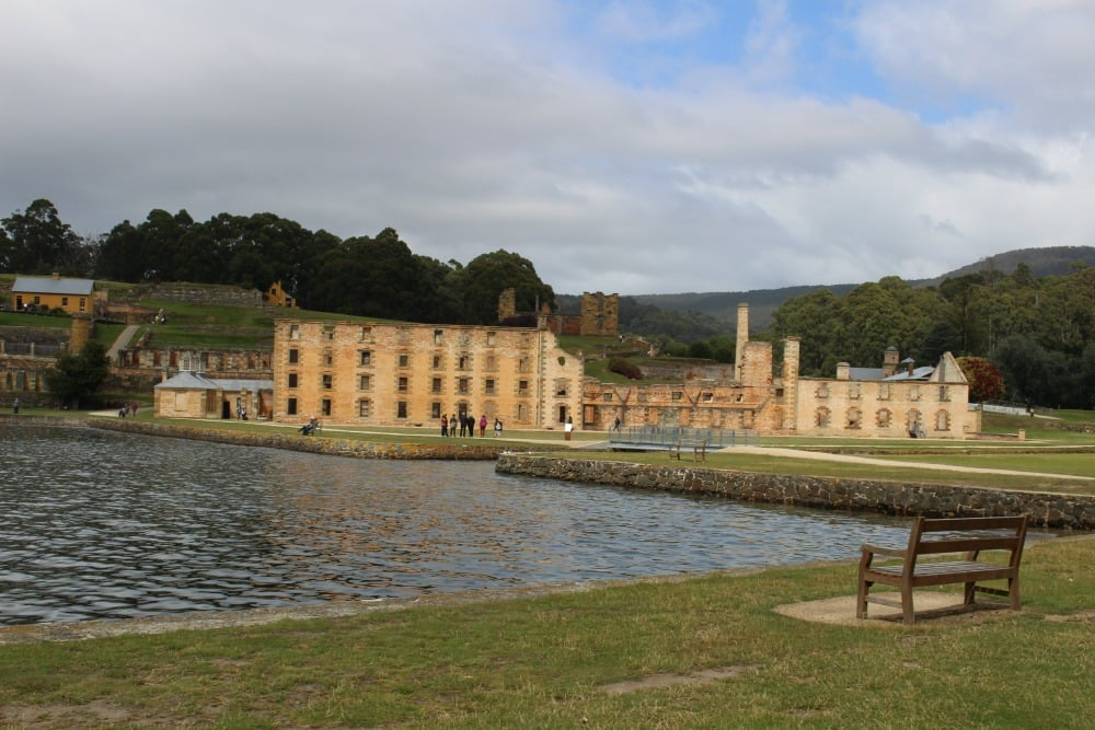 Ruins of the Penitentiary at the Historic Port Arthur Village, Tasmania Photo: Kristy King ©