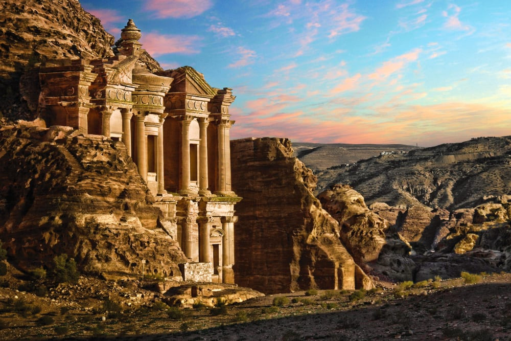 The Lost City of Petra.