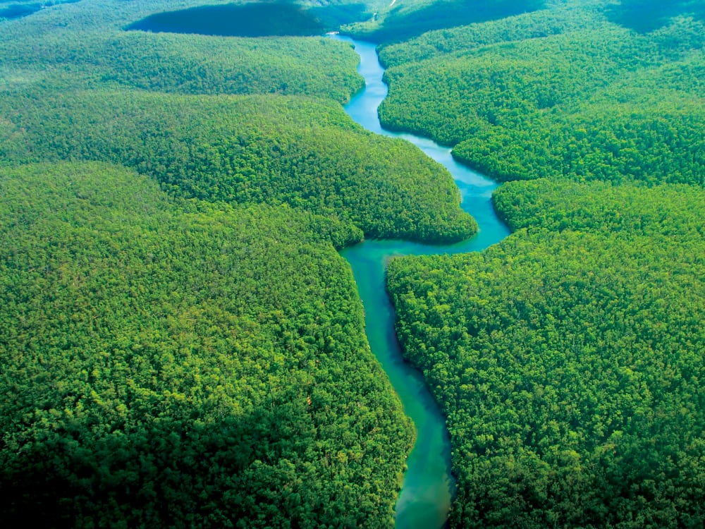 Aerial Photography - The River, Clouds; Plane; Flying; Aviation; Freedom; Aerial; Holiday; Travel; Destination; Amazon; escape; recreation; getaway; beach; landscape; paradise