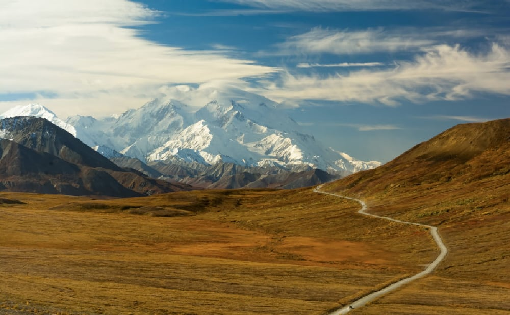 Denali from Stony Hill Overlook in Fall