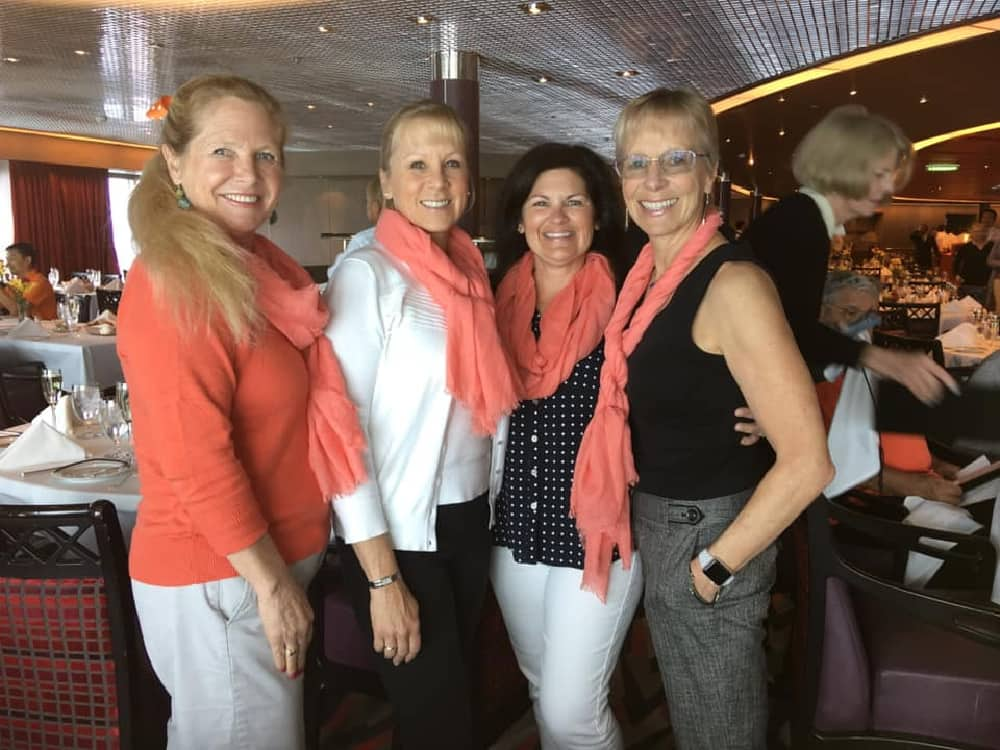 Four stylish and chic guests, sent in by Deb.