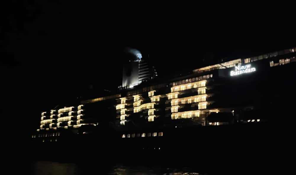 Nieuw Statendam is ready to celebrate.