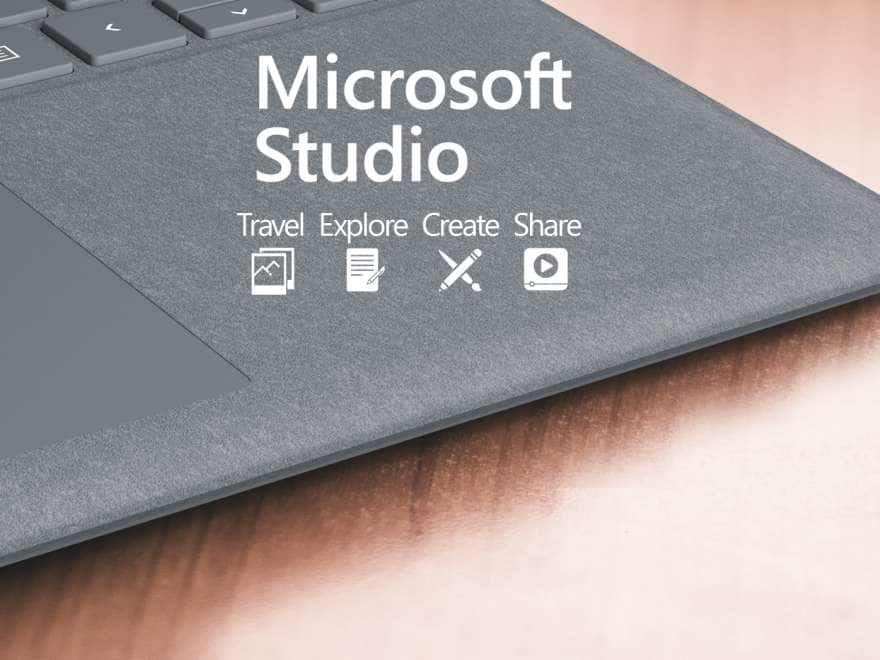 Microsoft Studio. Travel. Explore. Create. Share.