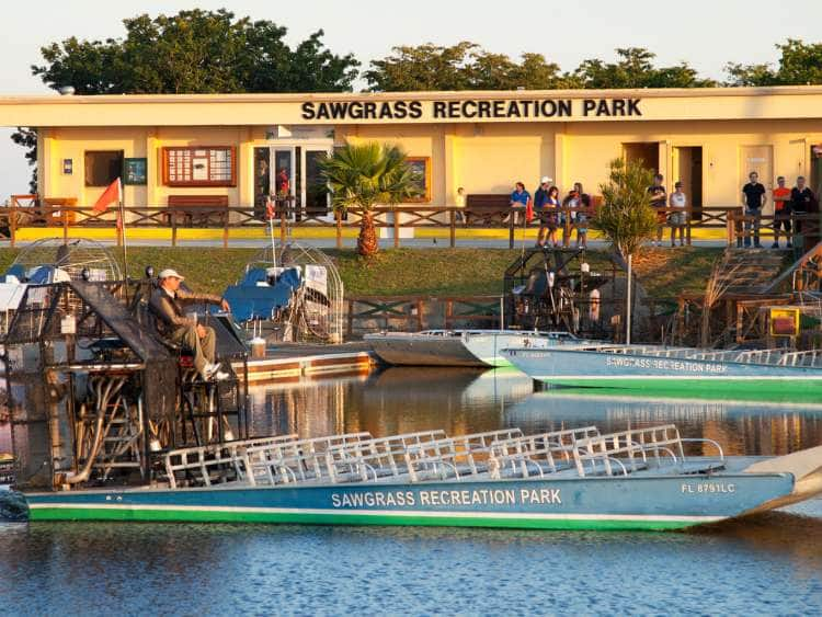 Everglades Airboat Ride Transfer To Miami Airport