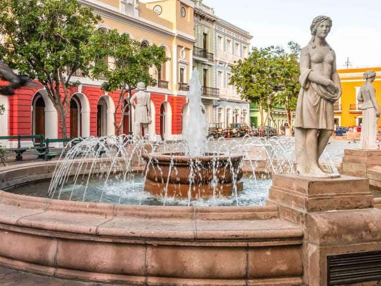 Fountain in San Juan, Puerto Rico