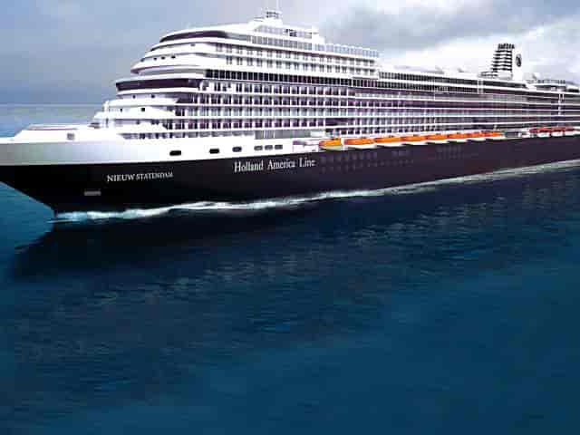 Holland America's Nieuw Statendam cruise ship