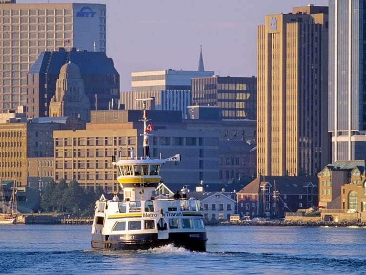 A picture of the Metro Transit ferryboat in Halifax, Nova Scotia, Canada while on a Canada cruise