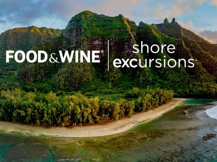 Food & Wine Tours on Hawaii & South Pacific Cruises