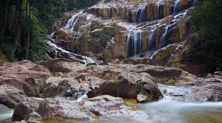 Central asian mountain rante