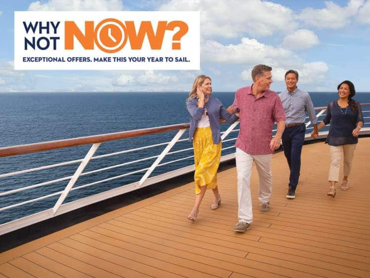 Why Not Now? Exception offers. Make this your year to sail.