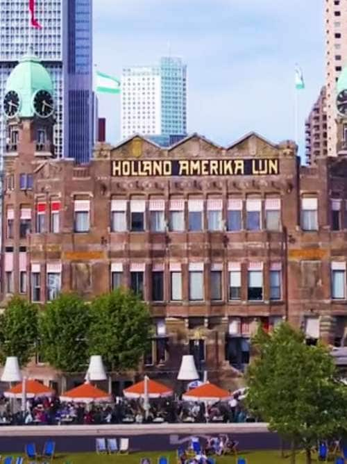 Holland America Line Building in Rotterdam, the Netherlands