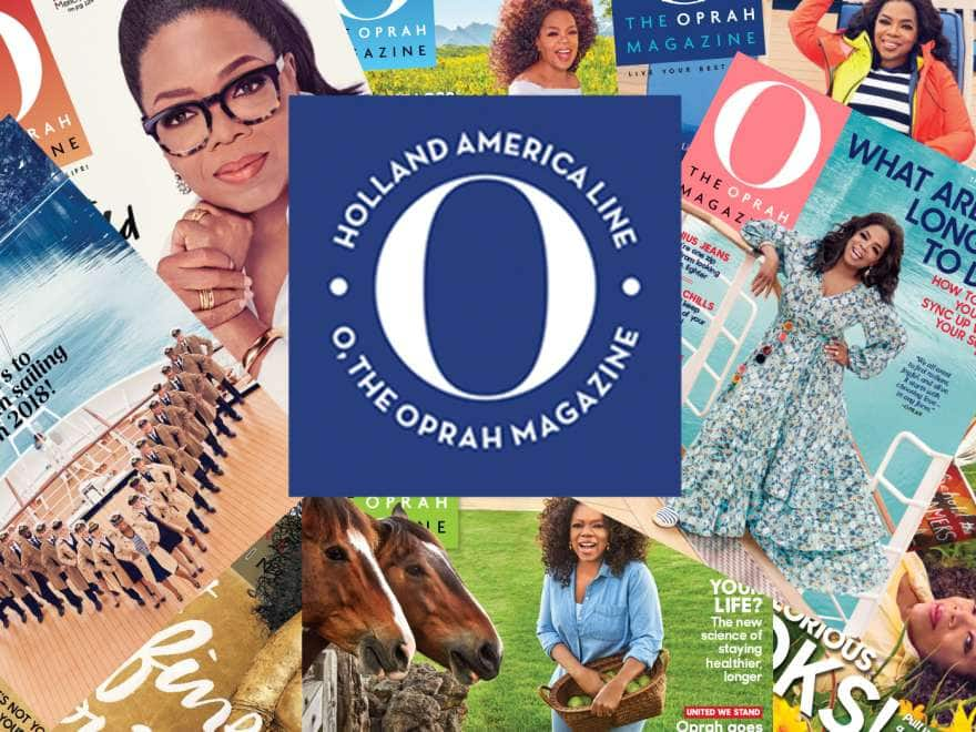 Several O. the Oprah Magazine covers