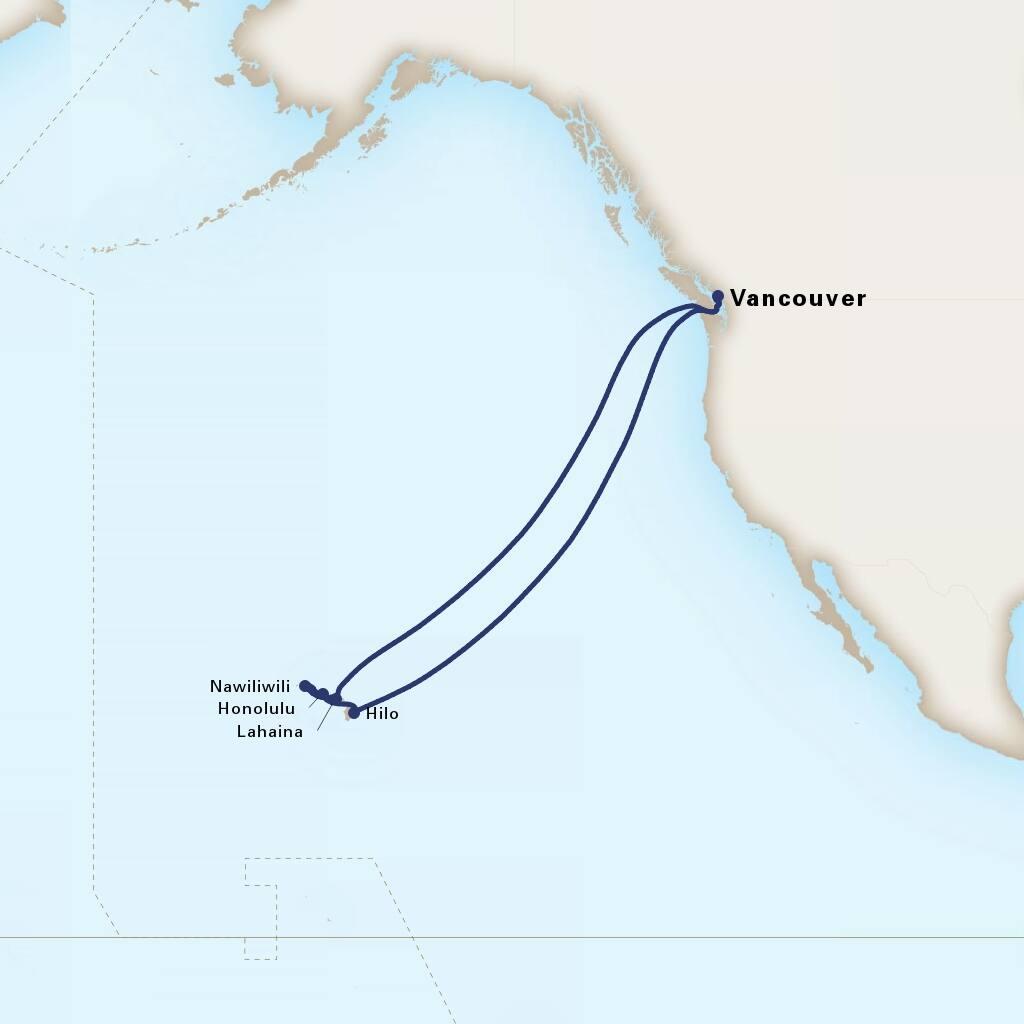 Cruise To Hawaii From California: Circle Hawaii Cruise