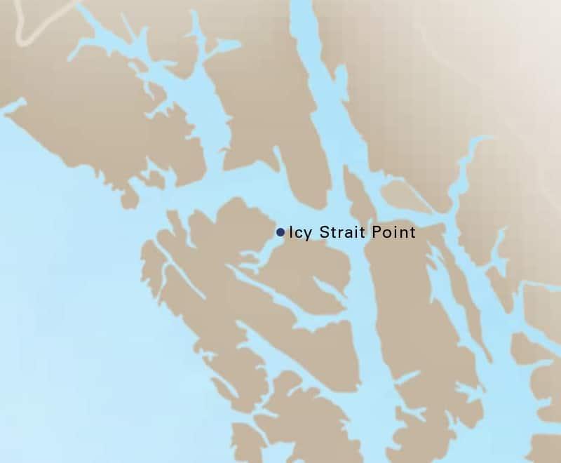 Icy Strait Point Alaska Map.Icy Strait Point Alaska Us