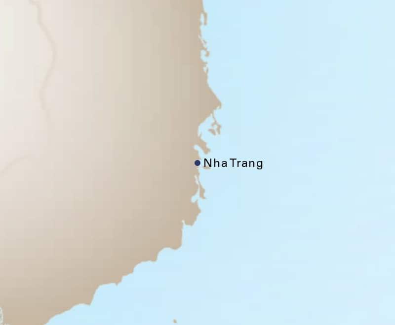 Nha Trang Vietnam Map.Nha Trang Vietnam